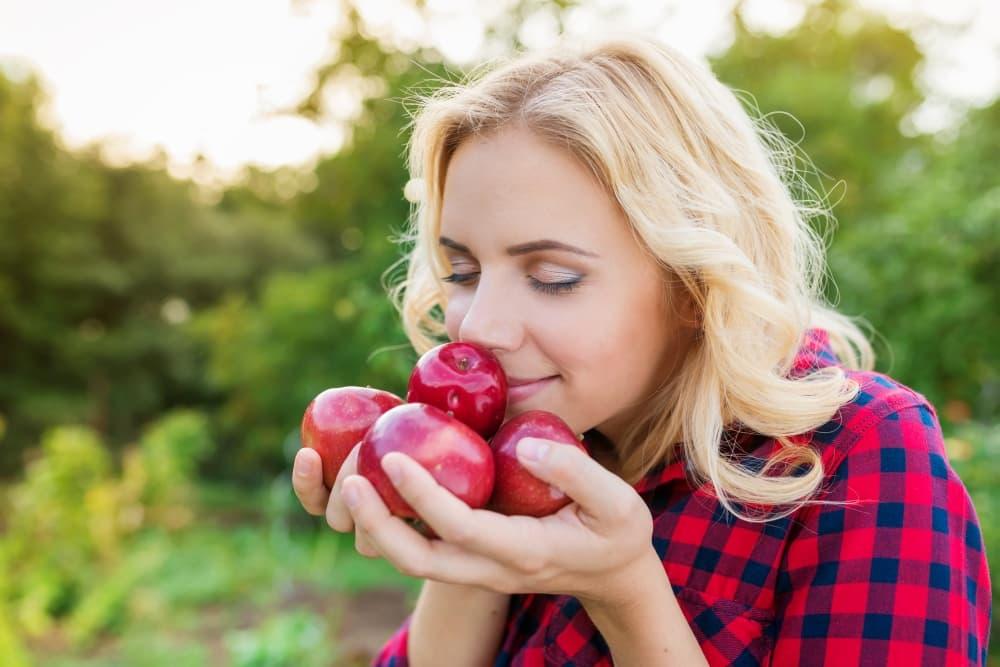 Perfumy o zapachu soczystego jabłka