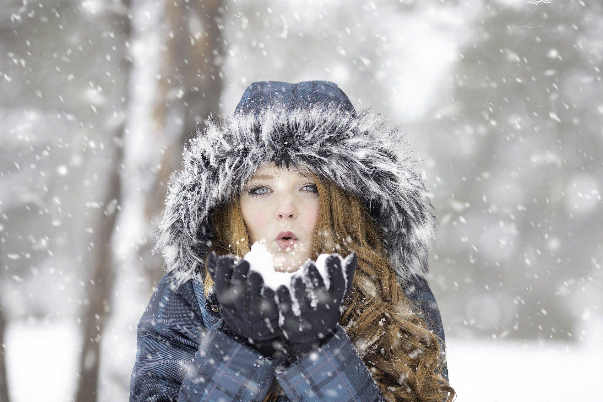 Problemy skórne zimą